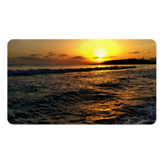 Sunrise in Greece Business Card Template