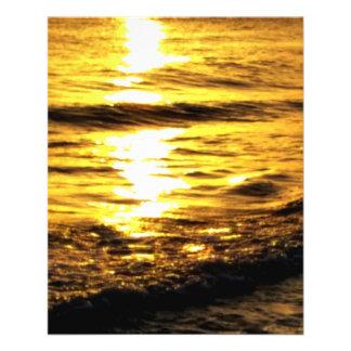 Sunrise in Greece Flyer Design