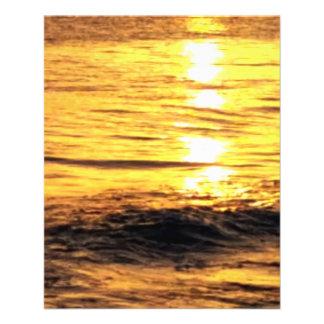 Sunrise in Greece Full Color Flyer
