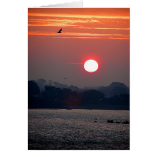 Sunrise in Guernsey Greeting Card