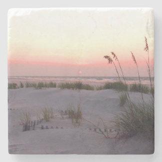 Sunrise in July, Wrightsville Beach Stone Coaster
