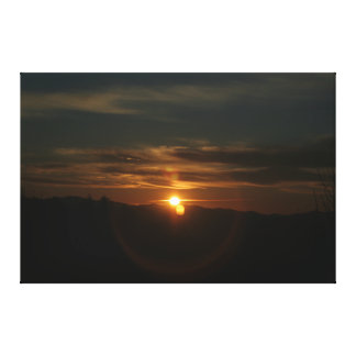 Sunrise in Knoxville Gallery Wrapped Canvas