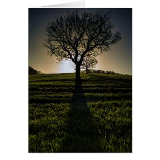 Sunrise in Linton (Cambridgeshire) 2015 Card
