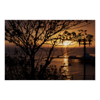 Sunrise in Llandudno Poster