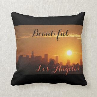 Sunrise in Los Angeles Cushion