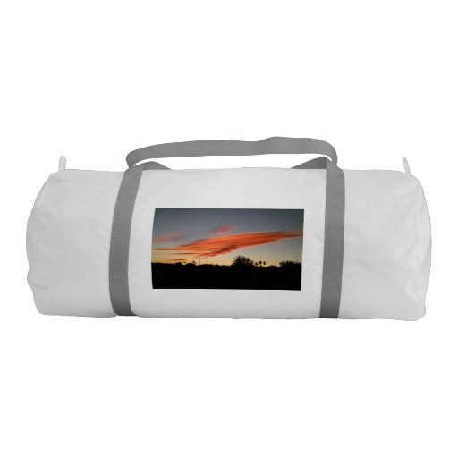 Sunrise in November in Spain Gym Bag Gym Duffel Bag