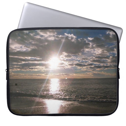 Sunrise in November in Spain Laptop Sleeve