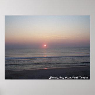 Sunrise in OBX Poster