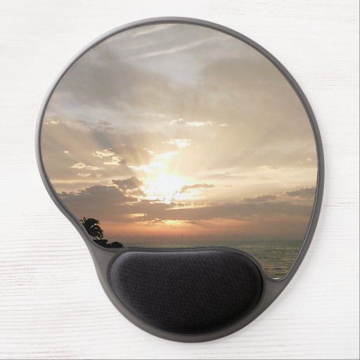 Sunrise in October in Spain Gel Mouse Pad