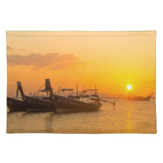 Sunrise in Pak Meng, Trang, Thailand Placemat