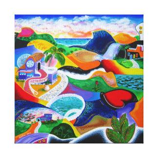 Sunrise in Puerto Rico Canvas Print