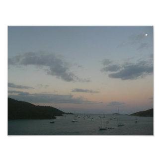 Sunrise in St. Thomas IV US Virgin Islands Photographic Print