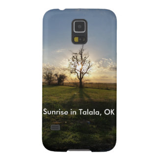 Sunrise in Talala, OK Cell Phone Case