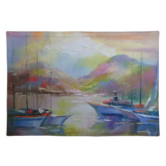 Sunrise in the bay placemat