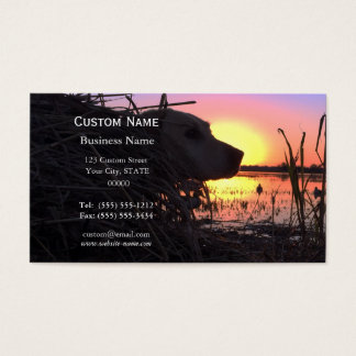 Sunrise in the Duck Blind Business Card