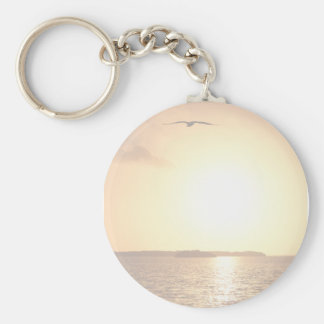 Sunrise in the Everglades Key Chains