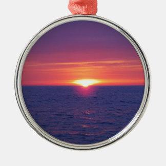 Sunrise In The Med Christmas Ornament