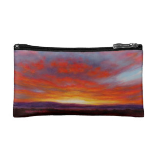 Sunrise in the Mountains of Montana Cosmetic Bag
