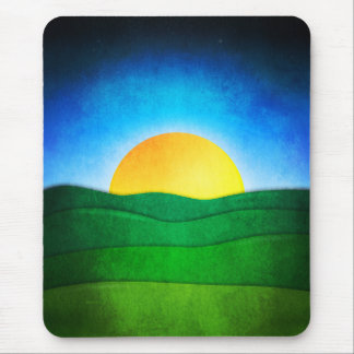 Sunrise In The Valley Mouse Pad