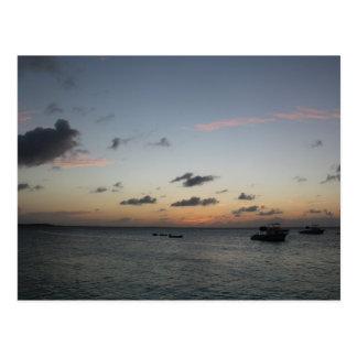 Sunrise in Turks & Caicos, BWI - Postcard