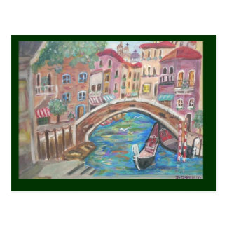 Sunrise in Venice Postcard