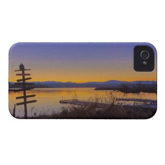 Sunrise in winter in Seattle 2 iPhone 4 Case