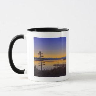 Sunrise in winter in Seattle 2 Mug