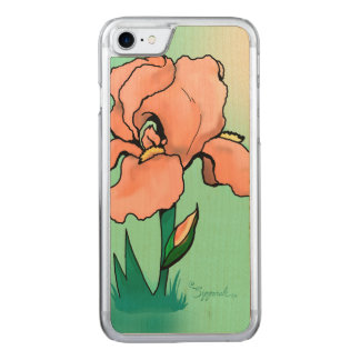 Sunrise Iris Carved iPhone 8/7 Case