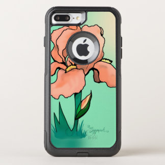 Sunrise Iris Cute Floral OtterBox Commuter iPhone 8 Plus/7 Plus Case