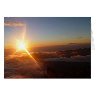 Sunrise Joy Card