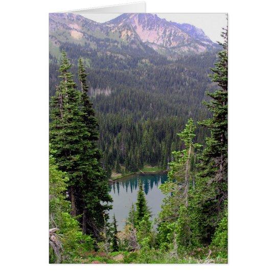 Sunrise Lake, Mount Rainier Card