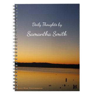 Sunrise Lake Notebooks
