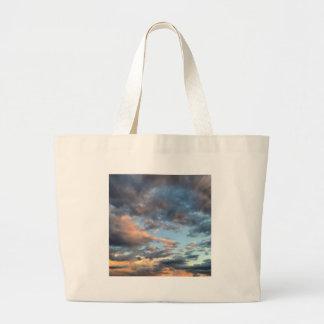 sunrise large tote bag