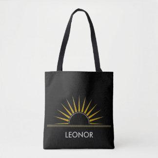 SUNRISE logo gold silver I + your Backgr. & ideas Tote Bag