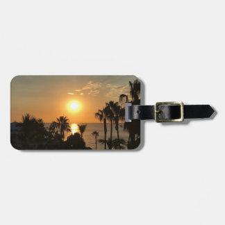 Sunrise Luggage Tag