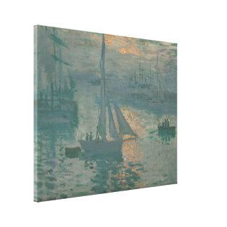 Sunrise (Marine) - Claude Monet Canvas Prints