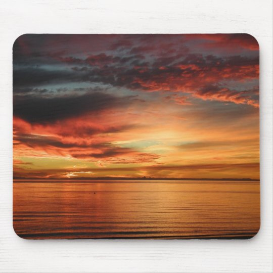 sunrise mouse pad