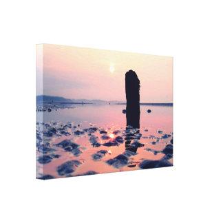 Sunrise Murlough Beach Gallery Wrapped Canvas