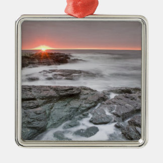 Sunrise near Brenton Point State Park on Ocean Christmas Ornament