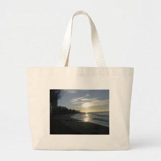 Sunrise near Malaga Tote Bags