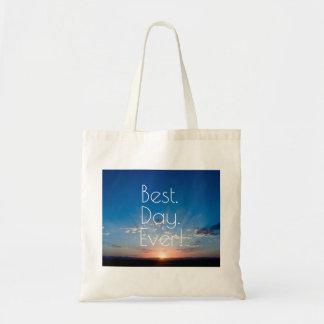 Sunrise New Day Dawning Tote Bag