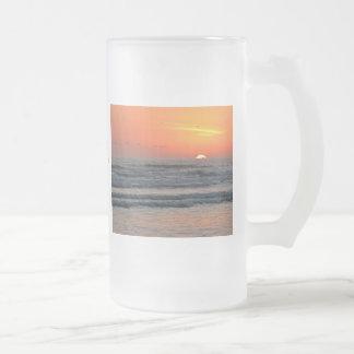 Sunrise - New Year 2011 Frosted Glass Mug