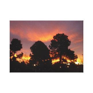 Sunrise November 30 2011 Canvas Canvas Prints