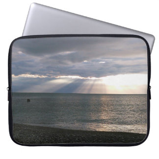 Sunrise November in Spain Laptop Sleeve