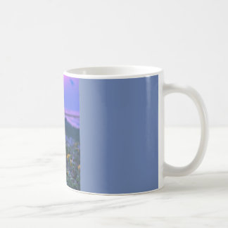Sunrise on Beach Flower Coffee Mug