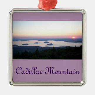 Sunrise on Cadillac Mountain Ornament