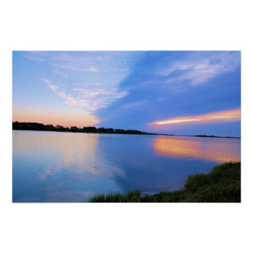 Sunrise on Chincoteague Poster