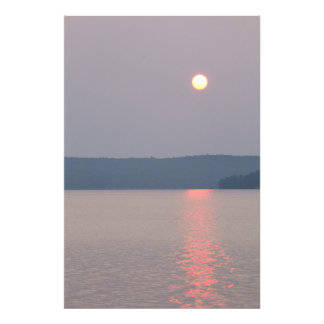 Sunrise on Elk Lake, Michigan Photograph