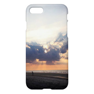 Sunrise on Folly Beach iPhone 7 Case