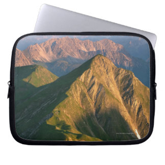 Sunrise on mt. falschkogel, in the lechtaler 7 laptop sleeve